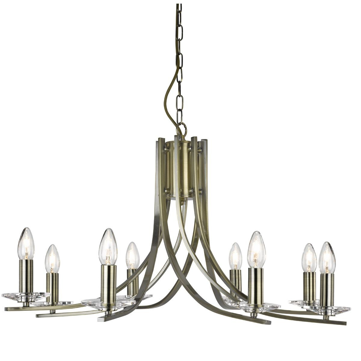 Brass Chandelier Ceiling Lights : Ascona light ceiling antique brass