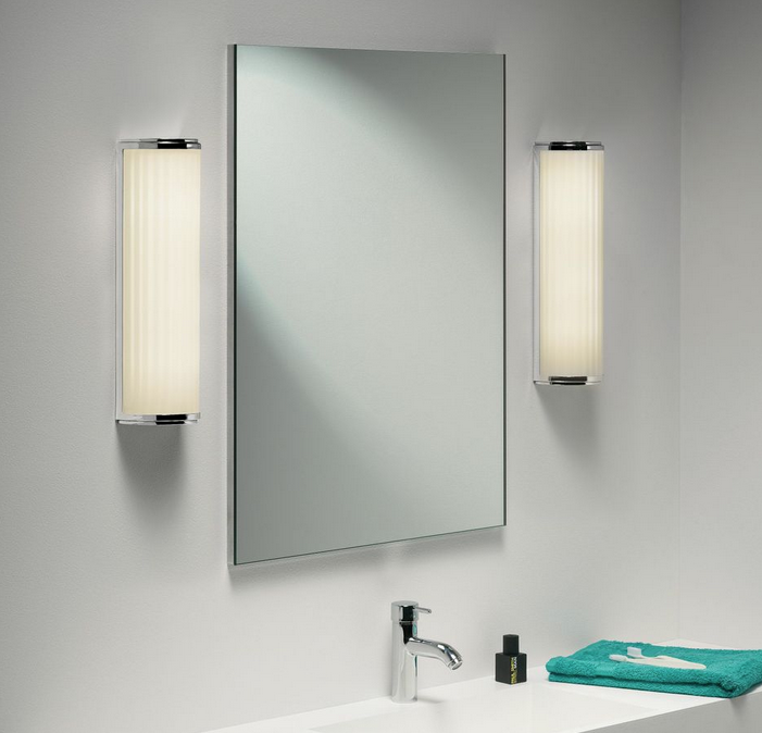 New Instead Use A Light Above The Mirror Or On Either Side Of It Many Vanity Lights Are Designed To Diffuse  If You Make Them Dimmable, Youll Create A Lovely