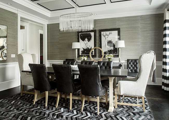 Good Glamorous Dining Room Kbw Interiors