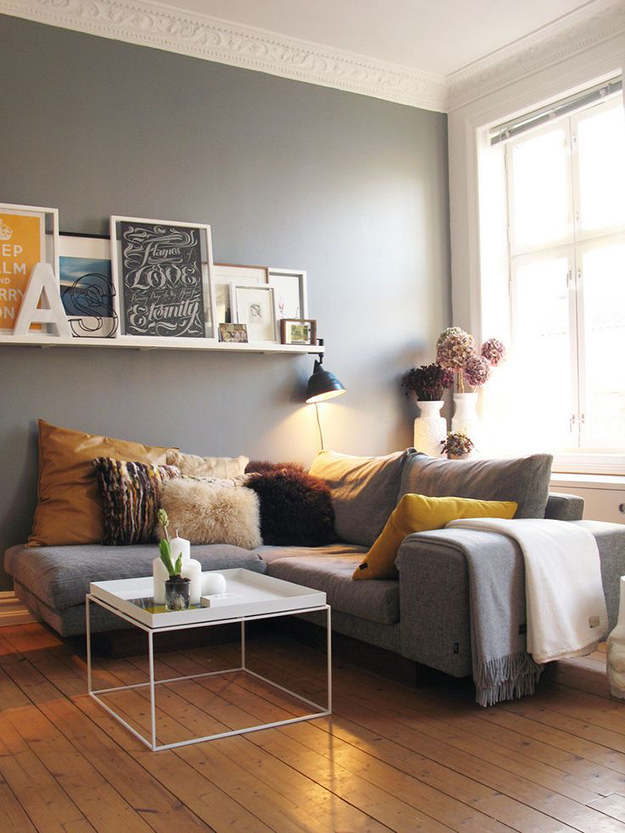 Warm Up for Autumn - cosy living room