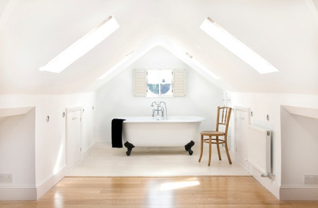 low ceiling lights loft conversion