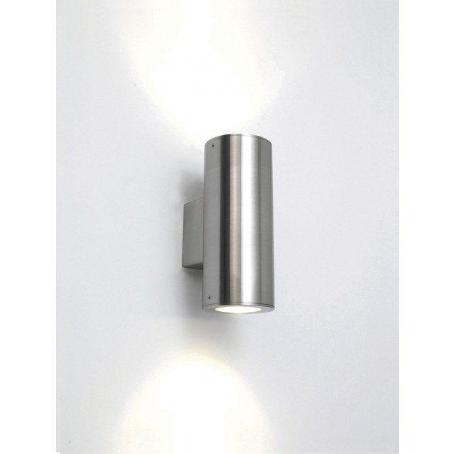 Astro Lighting Detroit Wall Light - 2 Light, Stainless Steel