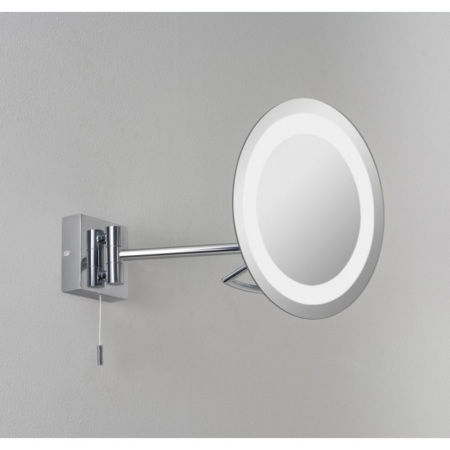 Astro Lighting Gena Magnifying Mirror - 1 Light, Polished Chrome