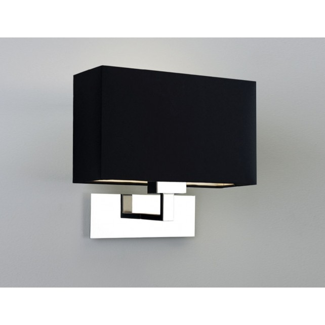 Astro Lighting Park Lane Grande Wall Light - 1 Light, Polished Nickel