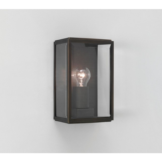 Astro Lighting Homefield Outdoor Wall Light - 1 Light, Bronze