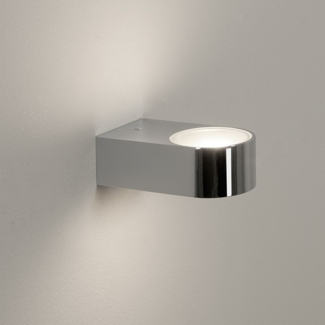 Astro Lighting Epsilon Wall light - 1 Light, Polished Chrome
