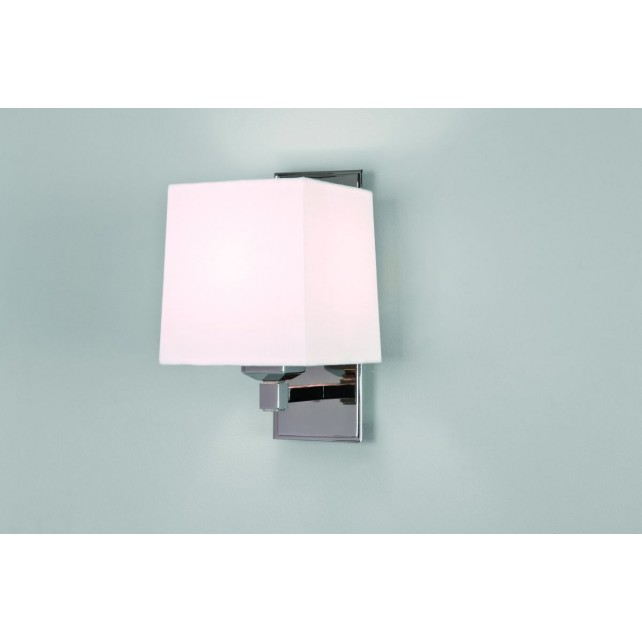 Astro Lighting Lambro 220 Wall Light - 1 Light, Polished Nickel