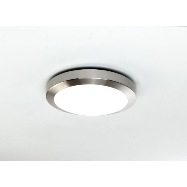 Astro Lighting Dakota 300 Ceiling Light - 1 Light, Brushed Nickel