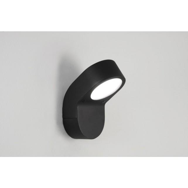 Astro Lighting Soprano Outdoor Wall Light - 1 Light, Painted Black
