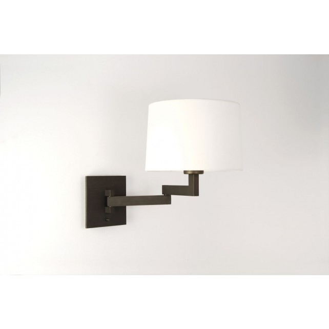 Astro Lighting Momo Swing Arm Wall Light - 1 Light, Bronze