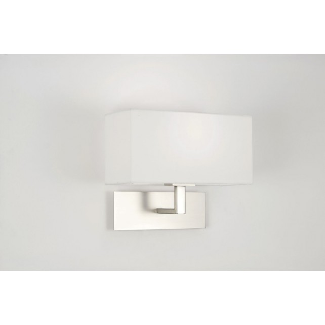 Astro Lighting Park Lane Wall Light - 1 Light, Matt Nickel