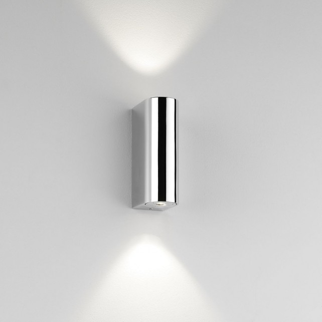 Astro Lighting Alba Wall Light - 2 Light, Polished Chrome