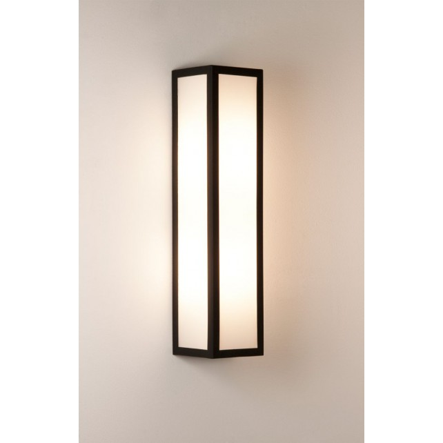 Astro Lighting Salerno Wall Light - 2 Light, Black