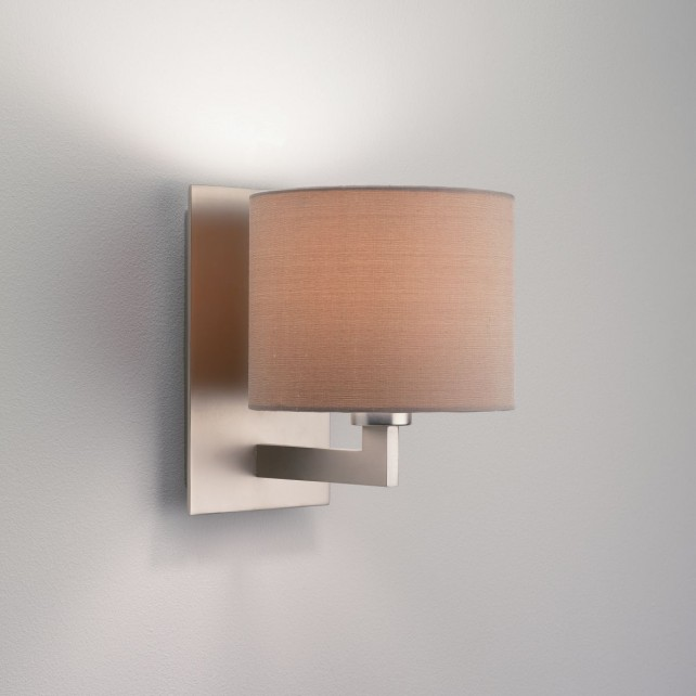 Astro Lighting Olan Wall Light - 1 Light, Matt Nickel