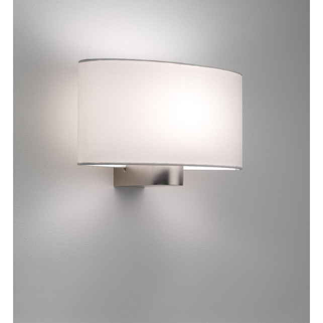 Astro Lighting Napoli Wall Light - 1 Light, Matt Nickel