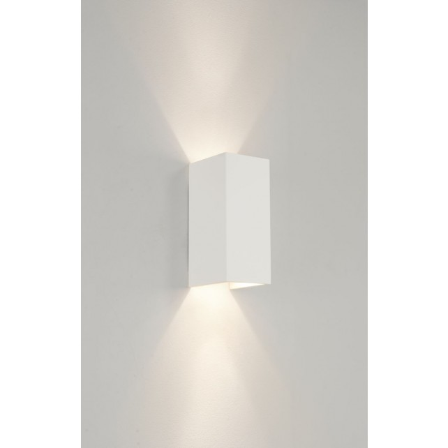 Astro Lighting Parma 210 Ceramic wall Light - 2 Light, white