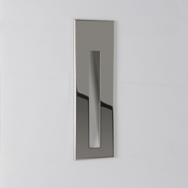 Astro Lighting Borgo 55 Wall Light - 1 Light, Polished Stainless Steel