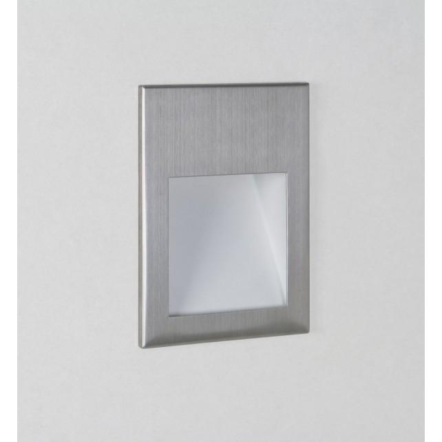 Astro Lighting Borgo 90 Wall Light - 1 Light, Brushed Stainless Steel
