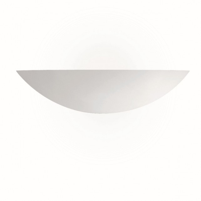 Ceramic Wall Light - Wide Bowl Washer