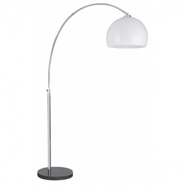Arcs Floor Lamp - Opaque Shade