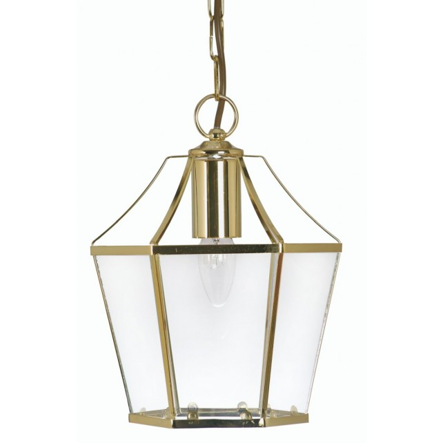 Dulverton Lantern Light Polished Brass