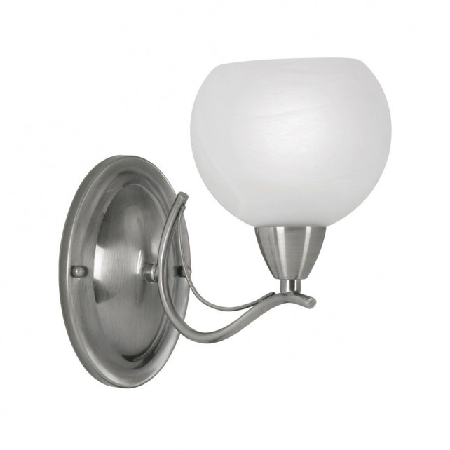 Luanda Single Wall Light - Antique Chrome