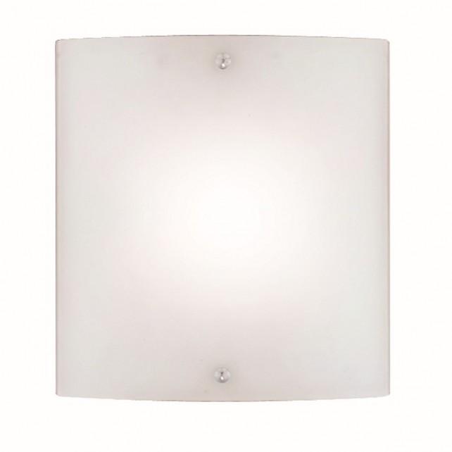 Wall Light - 1 Light Square Glass E27