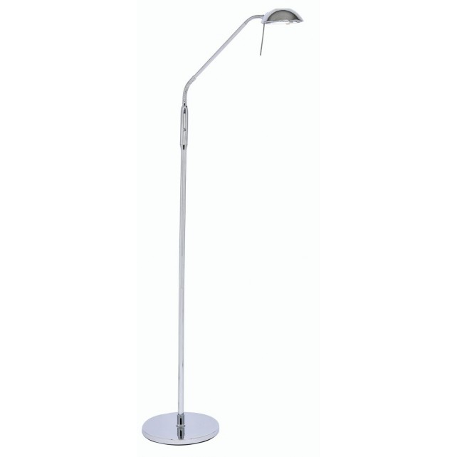 Oaks Lighting 1249 FL CH Metis 40W G9 Floor Lamp