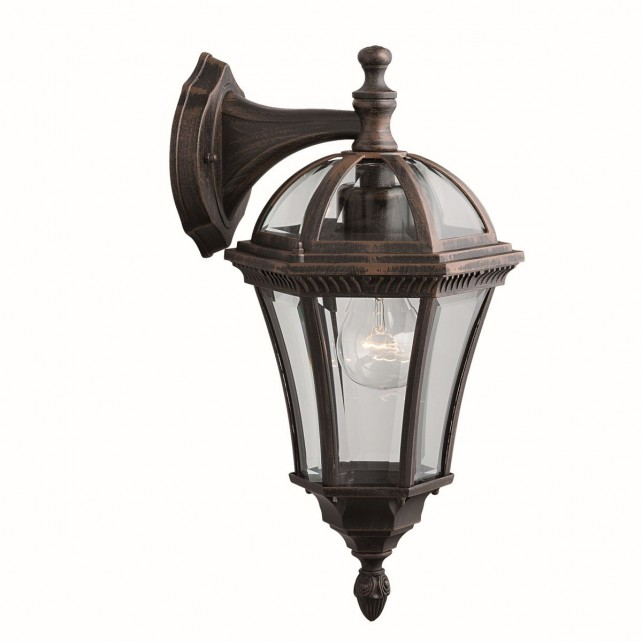 Capri Outdoor Light - Wall Down Lantern