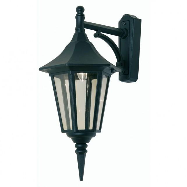 Oaks Lighting 191 DN BK Cardinal Down Black