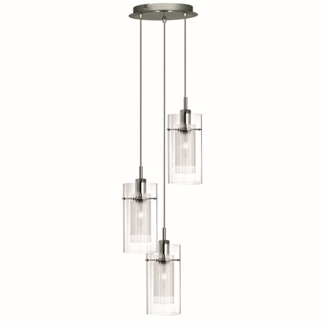 Duo 1 Ceiling Light - 3 light pendant