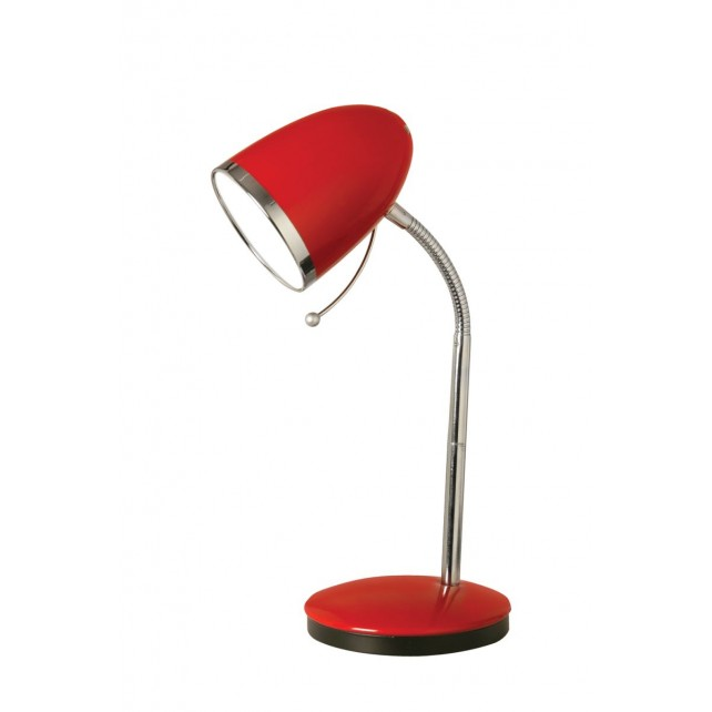 Madison Table Lamp - Red