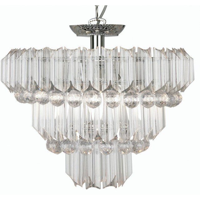 Acrylic Decorative Ceiling Light - 4 Light