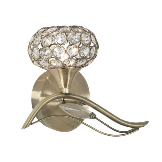 Esmee Single Wall Light - Antique Brass
