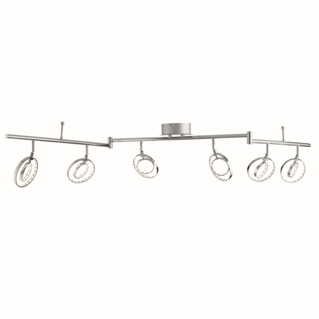 Spotlight 6 Light Led Gyro Split Bar