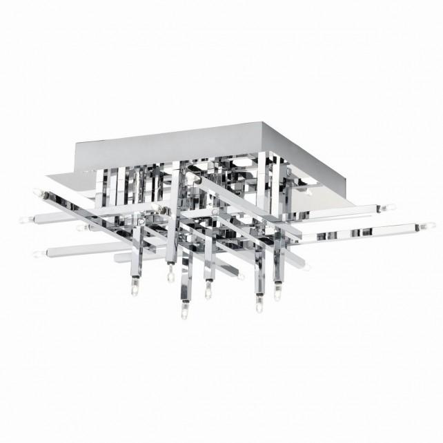 Lattice Flush Ceiling Light - 16 Light