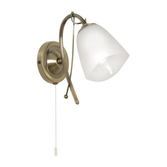 Turin Decorative Wall Light - Antique Brass
