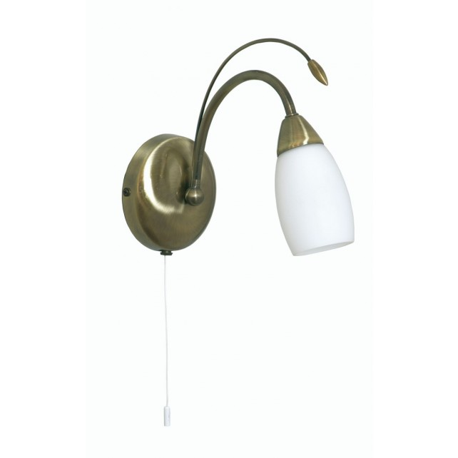 Antwerp Decorative Wall Light - Antique Brass