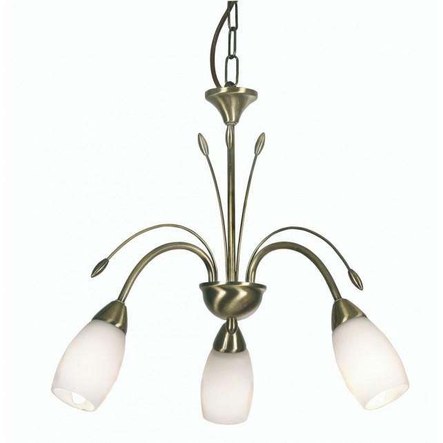 Antwerp Decorative Ceiling Light - 3 Light, Antique Brass