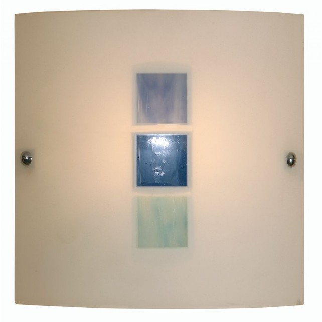 Muro Flush Wall Light - Blue