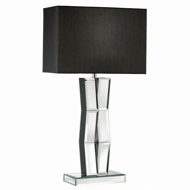 Reflection Mirror/Black Table Lamp -