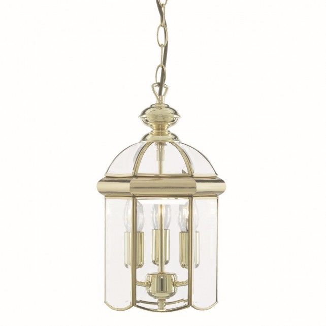 Lantern Light - 3 Lamp Polished Brass