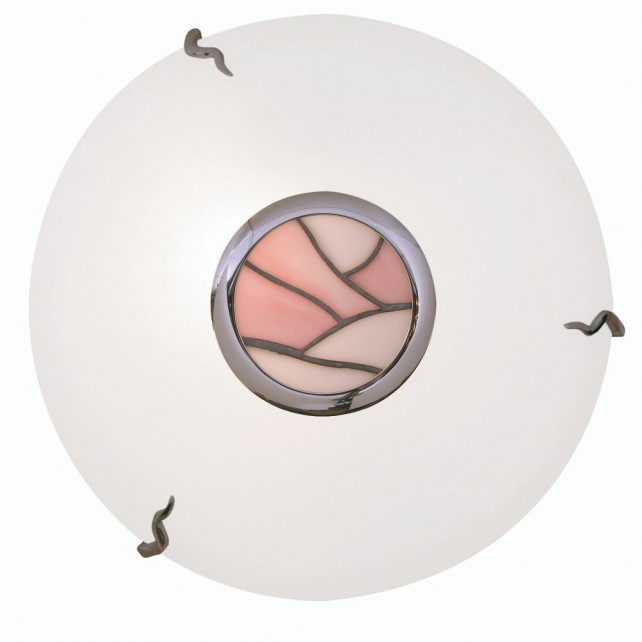 Tiffany Flush Ceiling Light