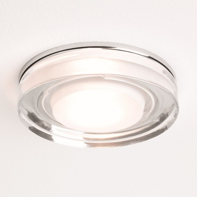 Astro Lighting Vancouver 230v Downlight - 1 Light, Polished chrome