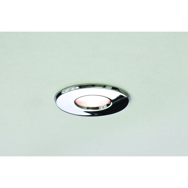 Astro Lighting Kamo 230v Downlight - 1 Light, Polished Chrome
