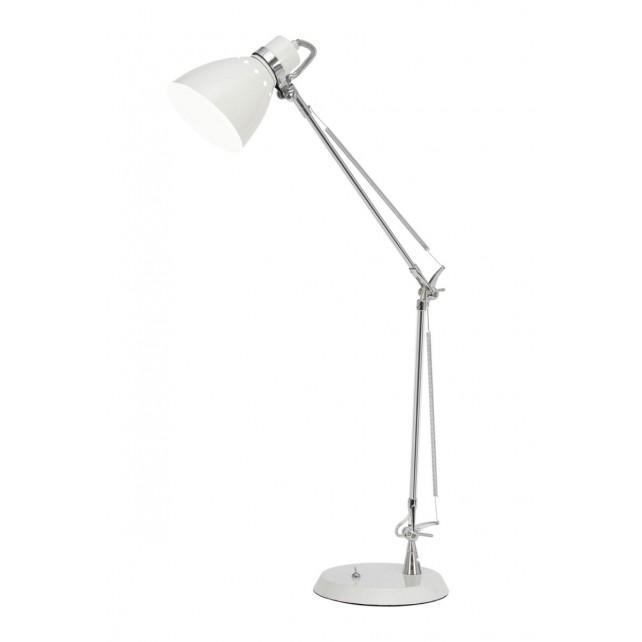 Oaks Lighting 5556 TL WH Ross Desk Lamp White