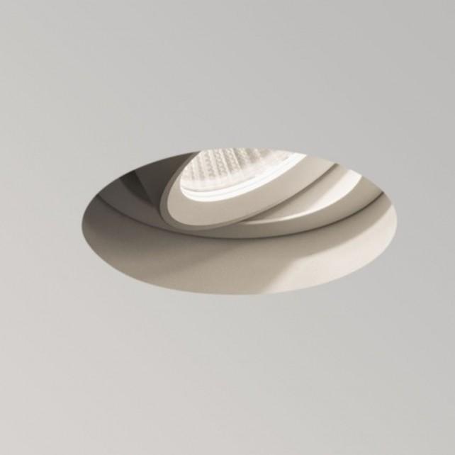 Astro Lighting Trimless Round LED Ceiling Light - 1 Light, White