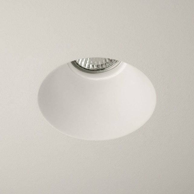 Astro Lighting Blanco Round Downlight - 1 Light, White