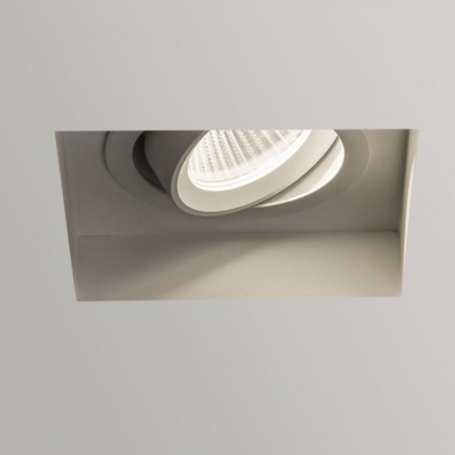 Astro Lighting Trimless Square LED Ceiling Light - 1 Light, White