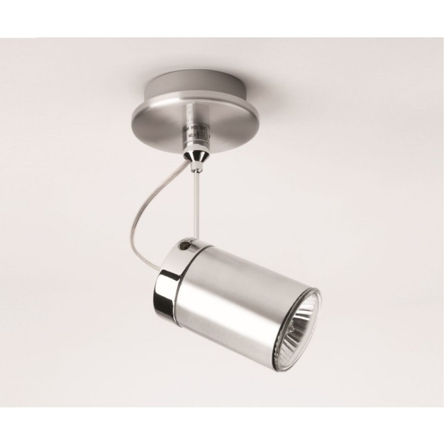 Astro Lighting Montana Spotlight - 1 Light, Brushed Aluminium